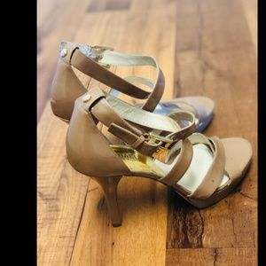 Miachel kors strappy shoes sandals high heels 10